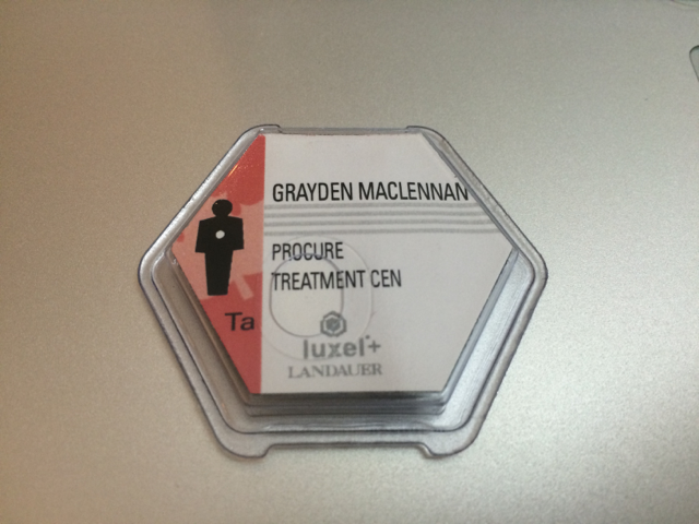 Landauer Luxel+ OSLD badge